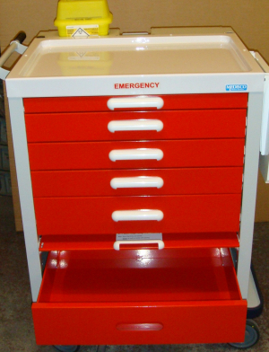 M-96E Emergency Resuscitation Trolley