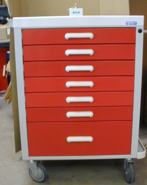MEDISCO STORAGE TROLLEY