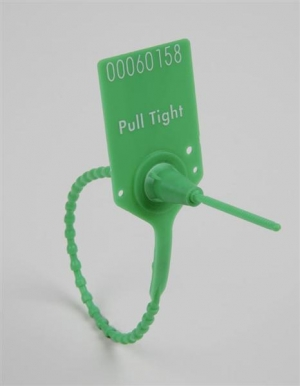 PULL TIGHT SECURITY SEAL GREEN